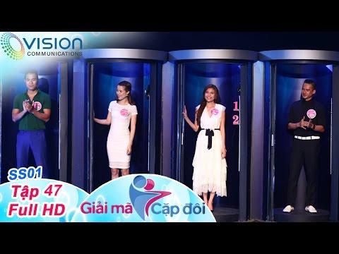 Giải Mã Cặp Đôi | Tập 47 | Lương Thế Thành - Thúy Diễm | Quang Hòa - Lan Hương | 22/08/2016 | HTV