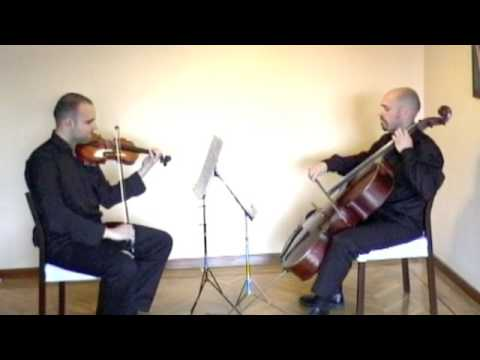 Duo Capricho plays Marcha de Haendel