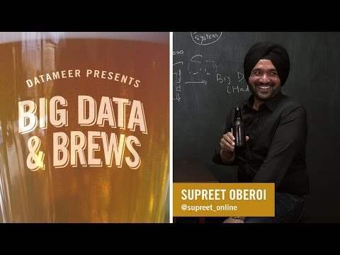 Big Data & Brews: Concurrent's Supreet Oberoi Talks Big Data in Financial Services