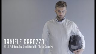 Crafting | Juventus' new logo vs. Olympic champion Daniele Garozzo