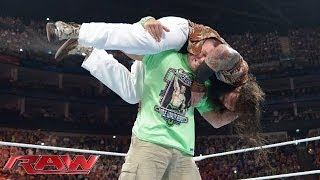 John Cena Ambushes Bray Wyatt: Raw, May 19, 2014
