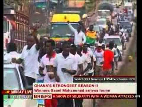 Midday Live Sports  TV3 Ghana's Strongest Winner Storms Kumasi - 20/08/2013