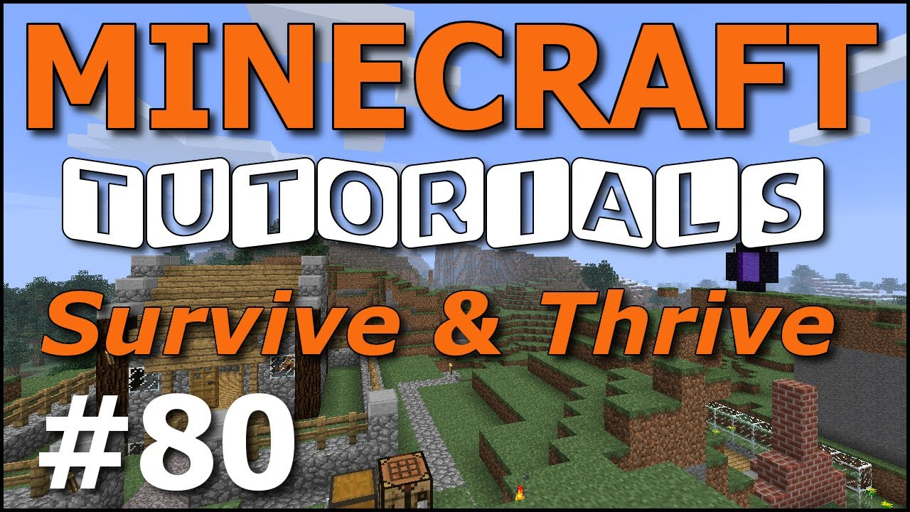 Minecraft Tutorials - E80 Horse Taming and Riding (Survive and Thrive ...