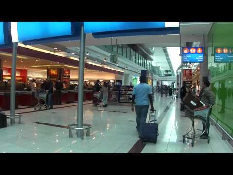 Inside Dubai International Terminal 3 Airport