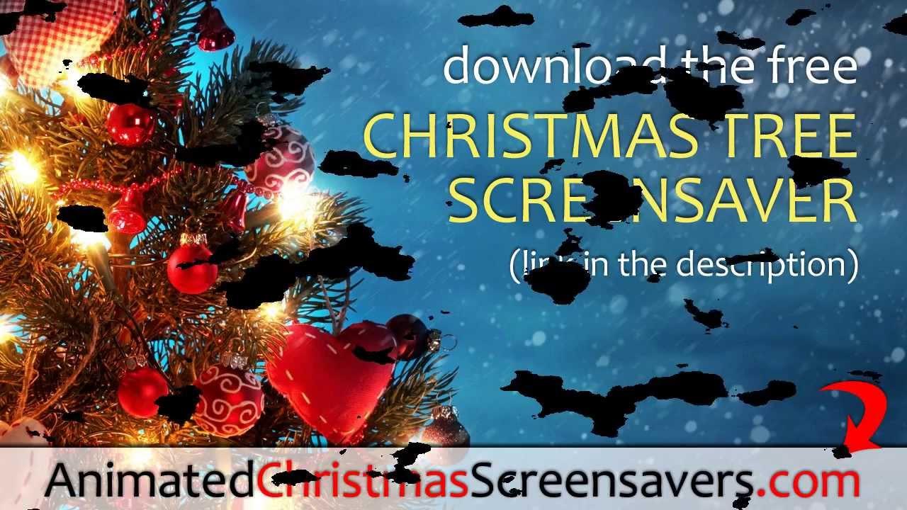 Christmas tree screensaver animated amp free christmas tree