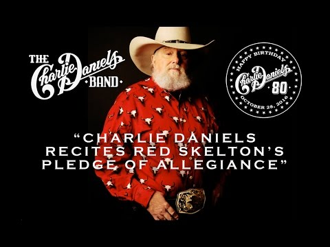 Charlie Daniels recites Red Skelton's Pledge of Allegiance