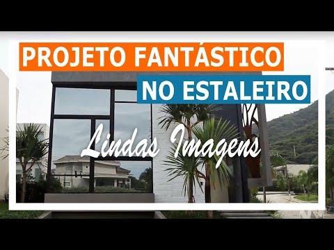 Lindo Projeto no Estaleiro com Esquadrias de PVC linha TitanTec - Weiku