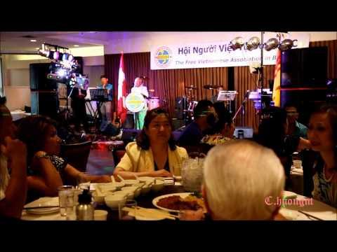 FVA da tiec gay quy Tet Phan 2 video by huong N. Van BC Canada