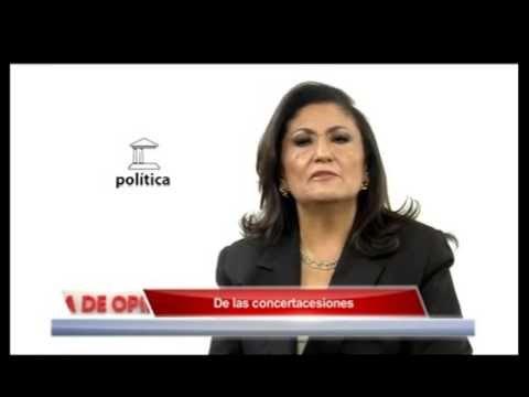De las concertacesiones AZTECA Barra de Opinion