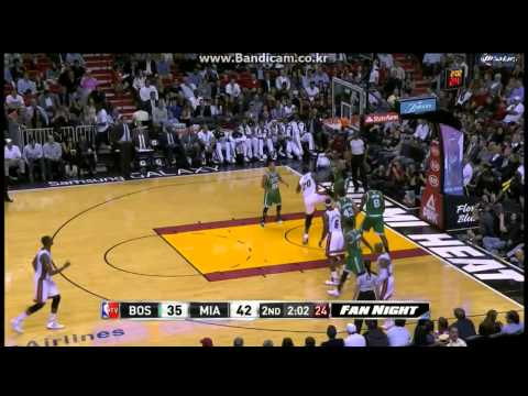 Greg Oden's Home Debut vs Boston (2014.01.21)