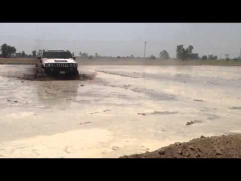 California Mr Jatt Hummer H2 in Punjab Farms
