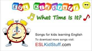Tick Tock, What Time Is It? Songs for kids