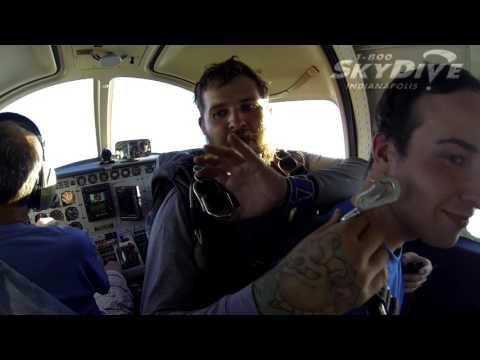 Kyle Reed's Tandem skydive!