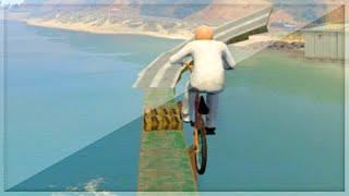 BMX Parkour Madness (GTA 5 Funny Moments)