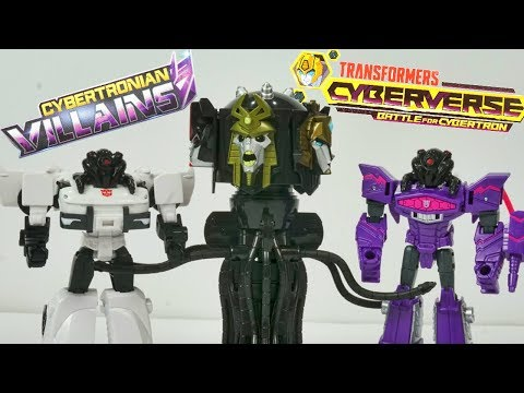 Transformers Cyberverse Cybertron Quintesson Judge Control Shockwave and Prowl!