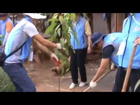 One tourist one tree program