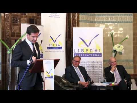2013 Liberal International Isaiah Berlin Lecture - Mark Rutte, the Netherlands