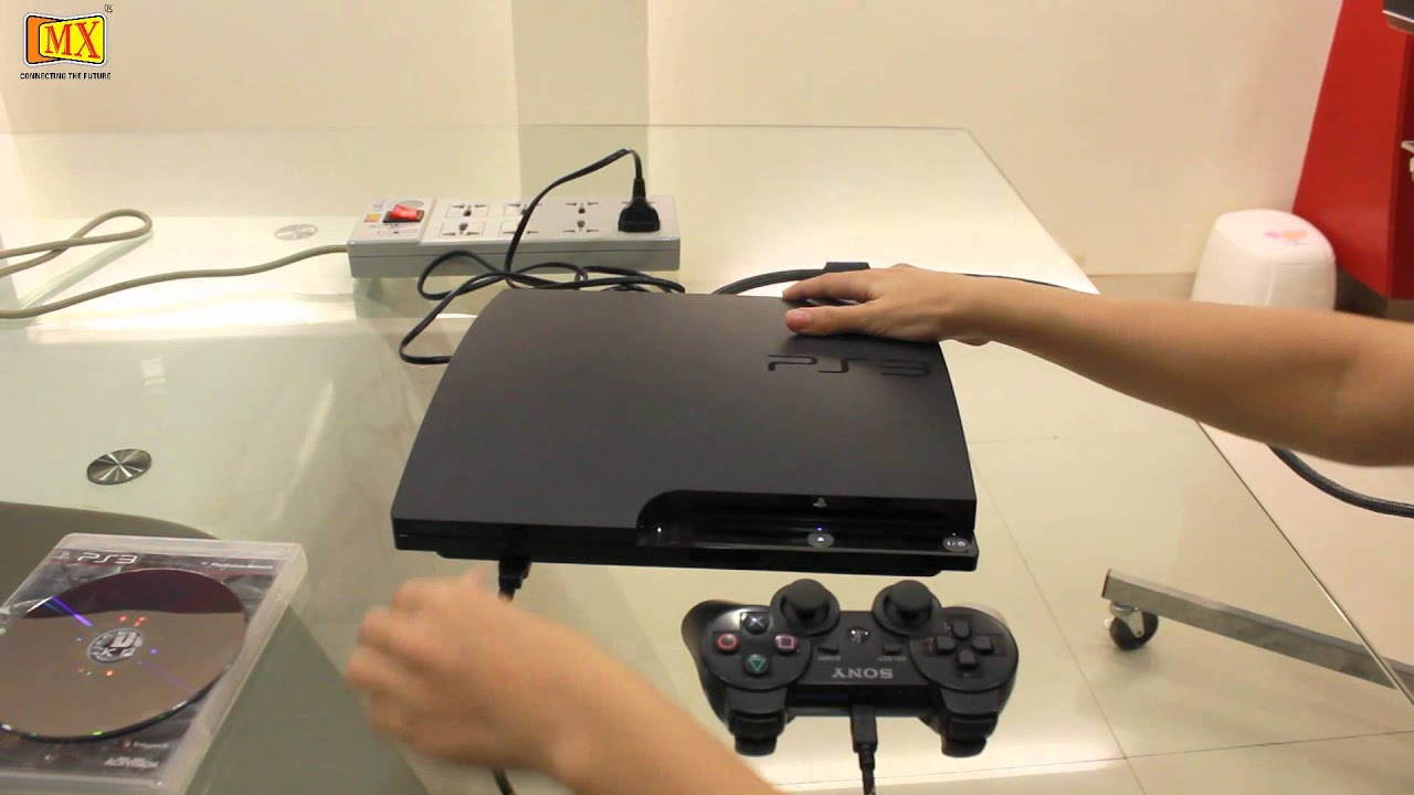 How To Connect Ps3 To The Tv Using Hdmi Youtube