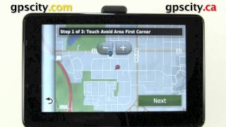 The Navigation Settings In The Garmin Nuvi 3550 And Nuvi