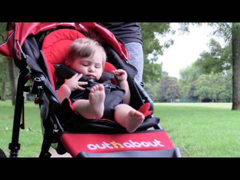 Out n About Out 'n' About Nipper Sport V4 Pushchair Raven Black