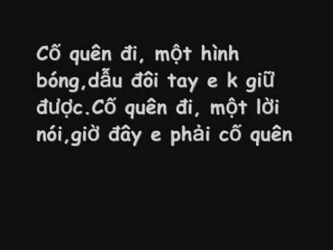 Cố quên - Khởi My (Lyrics)