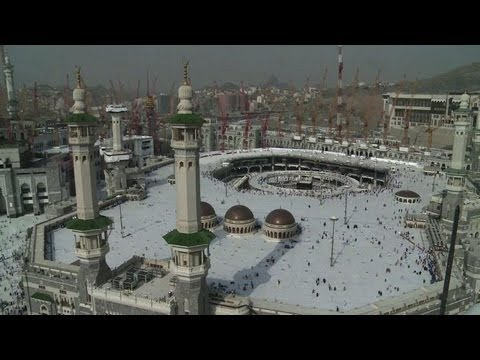 Pilgrims flock to Mecca for hajj despite virus concerns
