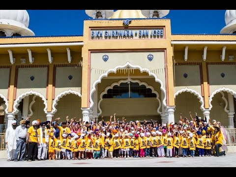 Sikh Gurdwara San Jose - Summer Gurmat Camp 2014 (Highlights Slideshow)