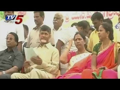TDP Chief Chandrababu Chittoor Tour