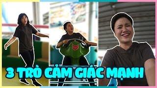 Thử thách 3 trò cảm giác mạnh ở Suối Tiên | Thrilling games challenge | Vannie's Special