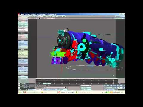 Rig a Transformer-style robot in LightWave (Part 3)