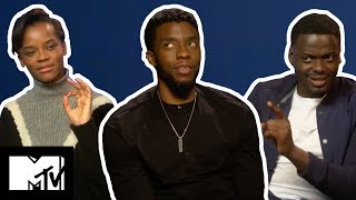 Black Panther Cast Play WOULD YOU RATHER | MTV Movies