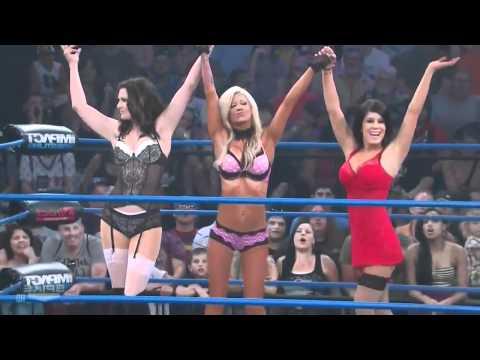 Женский бой в нижнем белье 3 на 3! Impact Wrestling 24.11.11 - drakoff.ru