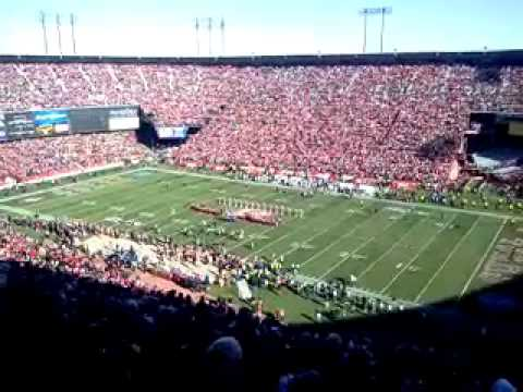 Our bucket list day at Candlestick Park