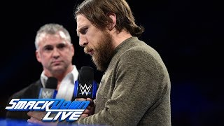 Shane McMahon calls out Daniel Bryan for his treatment of Owens & Zayn: SmackDown LIVE, Feb. 6, 2018