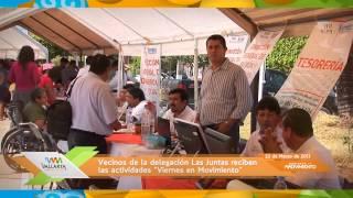 'Viernes en Movimiento' en la delegación de Las Juntas