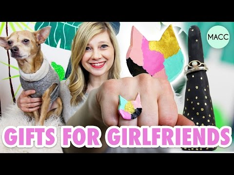 DIY Cat Face Ring & 3 DIY Jewelry Gifts for Girlfriends