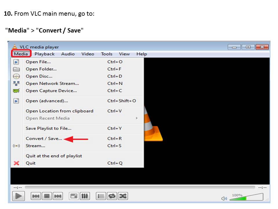 Rotate & Save a Video using VLC Media Player - YouTube