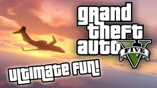 ★ GTA 5 : ULTIMATE FUN! Funny & Random Moments, Swing