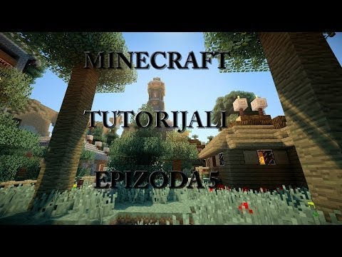 Minecraft Tutorijali E5 Farma Ovaca i Krava