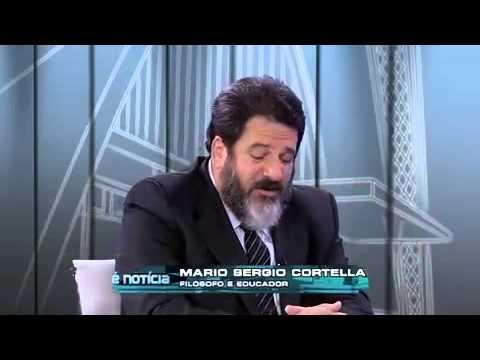 Kennedy Alencar entrevistando o Educador Mario Sérgio Cortella