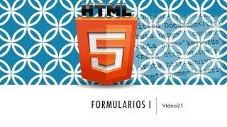 Curso de HTML 5. Parte 21