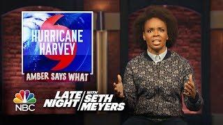 Amber Says What: Hurricane Harvey, Super Mario Retires from Plumbing