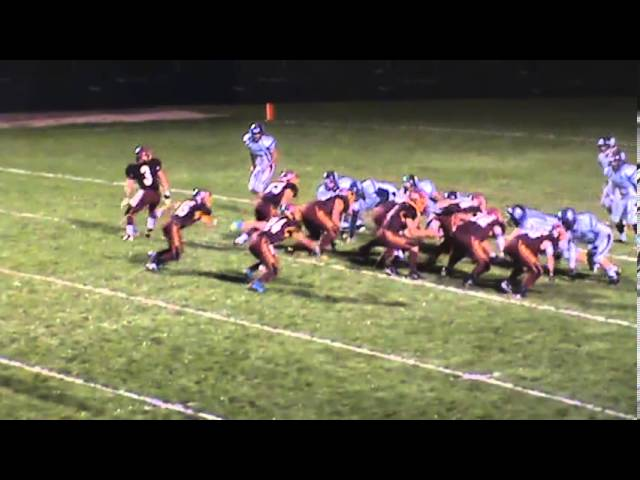 9-27-13 - Randy Baker finds the end zone form 8 yard out (Brush 34, University 6)
