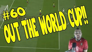 OUT OF THE WORLD CUP WTF!!!!!!! FIFA 14 Career Mode #60