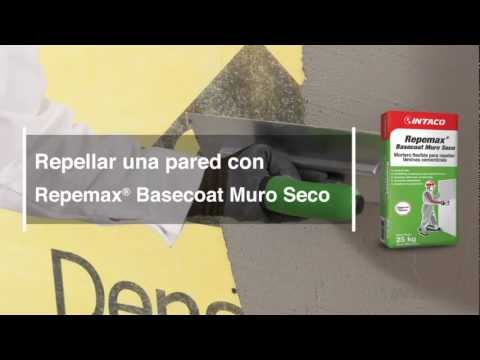 Repellar una pared con Repemax Basecoat Muro Seco