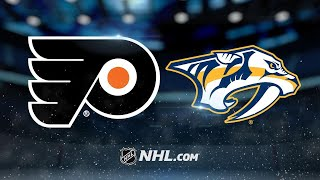 Forsberg, Predators bounce back to defeat Flyers, 6-5