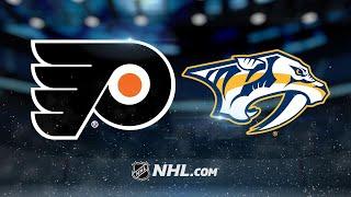Forsberg, Predators bounce back to defeat Flyers, 6-5