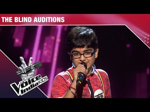 Moksh Performs on Slow Motion Angreza - Episode 9 - Dec 9, 2017 - The Voice India Kids Season 2