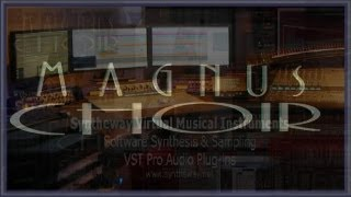 Syntheway Magnus Choir VSTi Plugin Software (Virtual Musical Instrument) Medley - YouTube