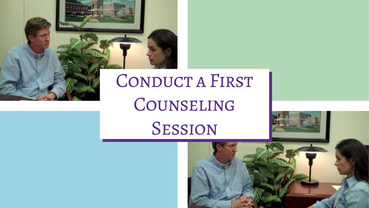 how to begin a counselling session